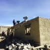 Households from Namgyal Village in the Upper Mustang District, Nepal, repaired and rebuilt their earthquake-damaged homes. Unlike in other Mustang villages, Namgyal relied on traditional methods of community labor exchange for reconstruction.