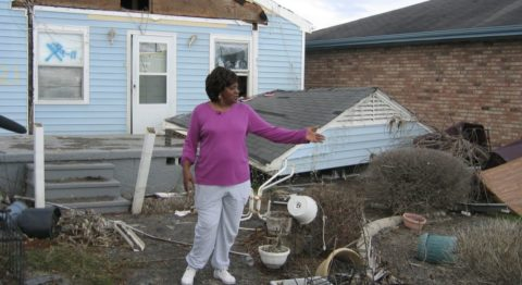 Hurricane Katrina aftermath - Hurricane Katrina rearranged Katie Williams' home on its foundation. Katie and her family had the capacity to reclaim their lives, but the disaster recovery system sabotaged their built-in cultural resilience.