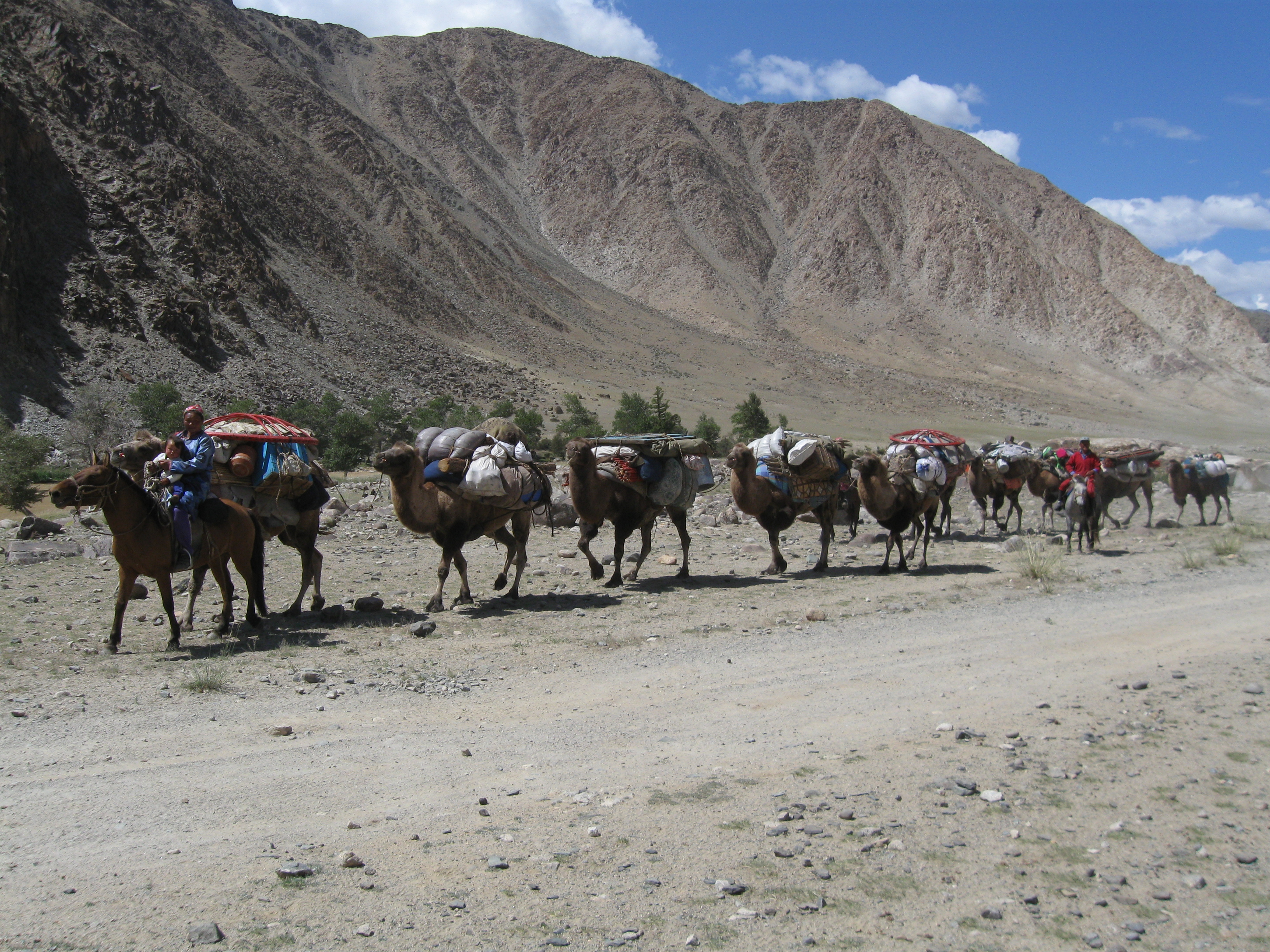 Original 38 Caravans On The Silk Road