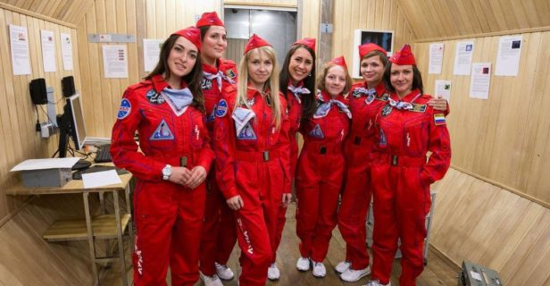 In October 2015, Russian scientists began Moon-2015, a simulated mission to the moon and back.