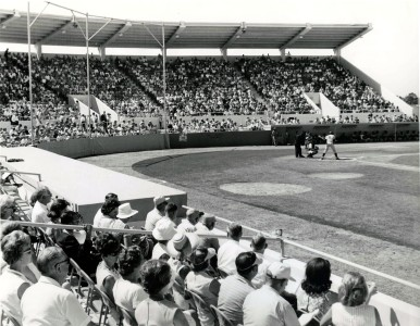The Detroit Tigers play a spring-training game in Tiger Town in 1966.