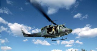 The Huey helicopter has become one of the most widely recognized military vehicles of all time.