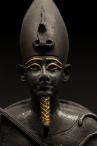 The Egyptian god Osiris is said to have brought agriculture to his people—thereby moving them away from the practice of cannibalism, which he banned.