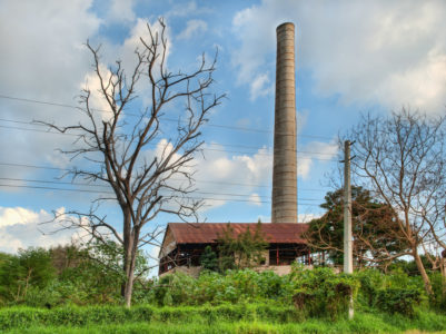 Abandoned sugar mills—reminders of a different time—dot the countryside of Puerto Rico.
