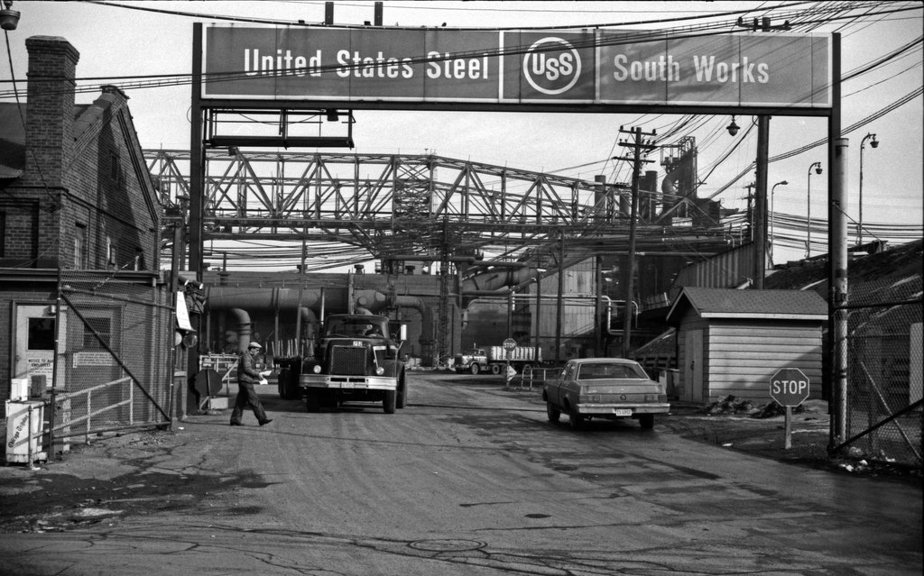 U.S. Steel South Works in Chicago was the largest steel mill in the region prior to its downfall.