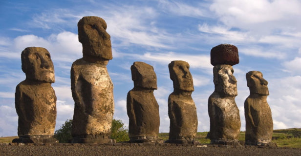 easter island demise - The famous statues of Easter Island have long been a source of awe and wonder.