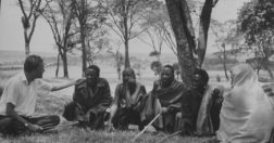 Billy Graham anthropology - In 1960, Billy Graham met with Maasai people while preaching throughout Africa.