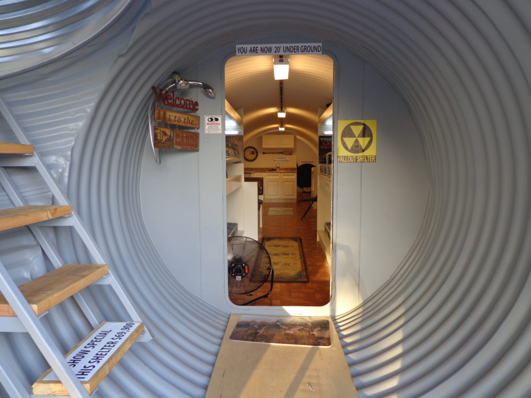 prepping anthropology - A bomb-proof shelter may be of interest to some preppers—but not to the majority.