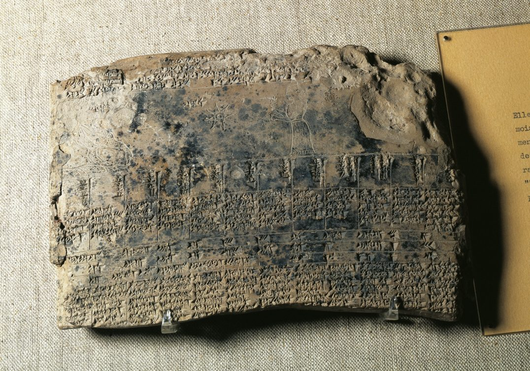 cyclical time technology - This astrological calendar—found circa 1900, in Uruk, Iraq—was created by the Sumerians, who probably devised the world's first linear calendar around 3000 B.C.