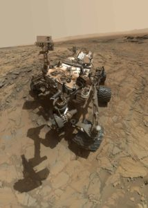 NASA anthropologist - In the next 20 years, NASA hopes to send humans to Mars, following the explorations of the Curiosity Mars rover.