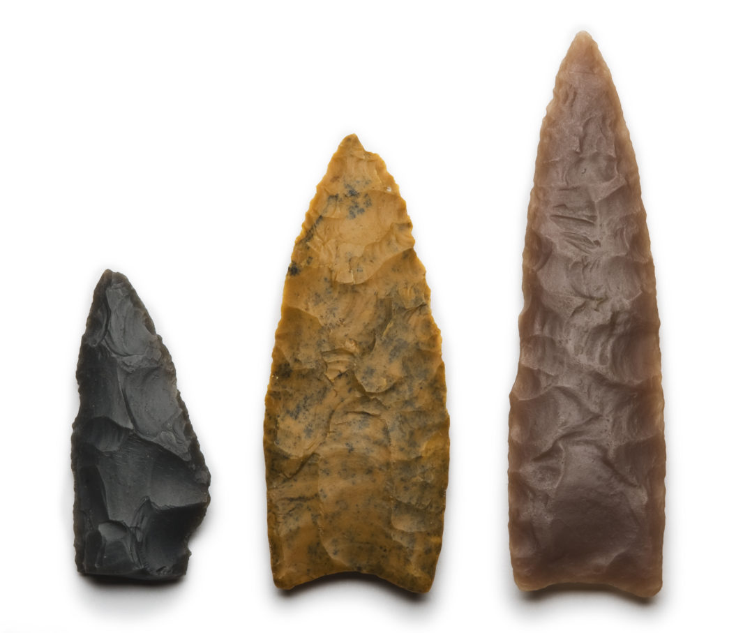Native American migration - For decades, archaeologists associated finely fluted spear points—such as the two points at right—with the first people to live in the Americas.