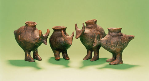 Paleolithic parenting - Made in the shape of animals, these baby bottles from present-day Austria were constructed during the Late Bronze Age.