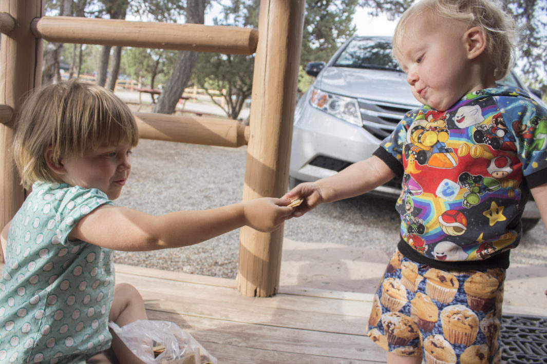 cuteness evolution - Children begin to exhibit prosocial behaviors, such as listening to or sharing with one another, from as early as 1 year in age.