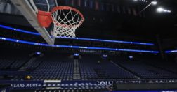 covid-19 sports - The Bridgestone Arena in Nashville, Tennessee, sat empty in March following the cancellation of the Southeastern Conference's basketball tournament amid the COVID-19 pandemic.