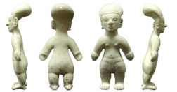 archaeology biases - Some figurines, like this one from the La Tolita-Tumaco culture, seem to blend gender characteristics from breasts to loincloths into a possible transgender or non-binary figure.