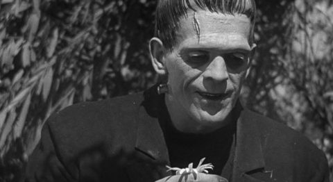 Some media reports on Lulu and Nana, the first known gene-edited human babies, referenced the science-fiction character Frankenstein (shown here from the film by that name).