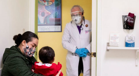 immigrants refugees vaccination - Undocumented populations often rely on small clinics, such as the Terra Nova Medical Group in Oakland, California (pictured here), that specifically serve uninsured or low-income communities.