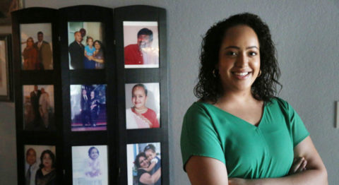 Kamala Harris one-drop rule - Some multiracial people in the U.S., such as Avani Hamilton (pictured), view Harris as an inspiration.
